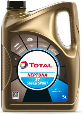 Motorový olej pro lodě 5W-30 Total Neptuna 2T Super Sport - 5 L - Oleje pro 2-taktní motory