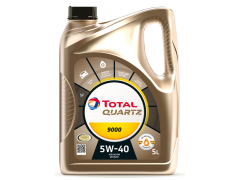 Motorový olej 5W-40 Total Quartz 9000 - 5 L Motorové oleje - Motorové oleje pro osobní automobily - Oleje 5W-40