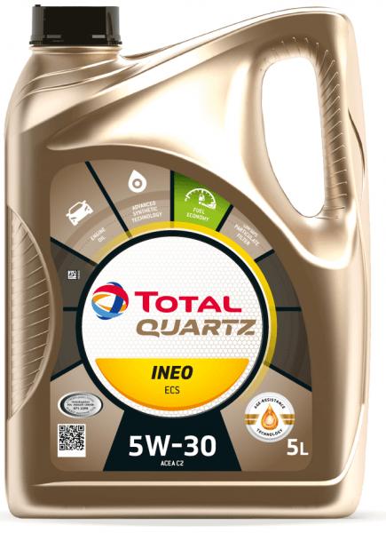 Motorový olej 5W-30 Total Quartz INEO ECS - 5 L