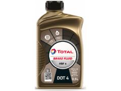 Brzdová kapalina DOT 4 Total HBF 4 - 0,5 L Provozní kapaliny - Brzdové kapaliny, aditiva
