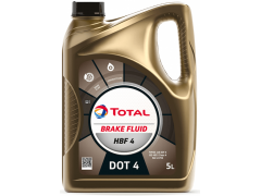 Brzdová kapalina DOT 4 Total HBF 4 - 5 L Provozní kapaliny - Brzdové kapaliny, aditiva