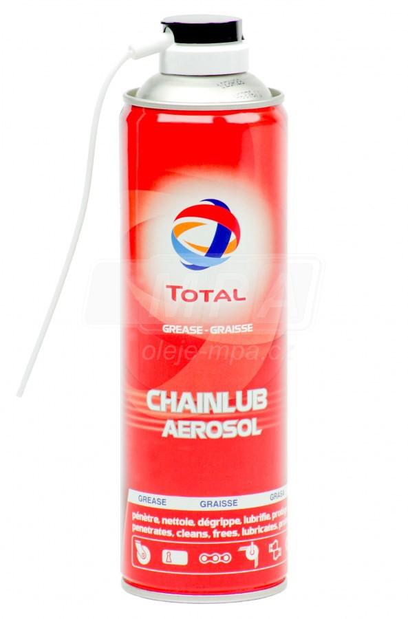 Olej na řetězy Total CHAINLUB sprej - 435 ML