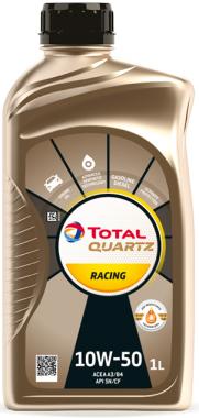 Motorový olej 10W-50 Total Quartz RACING - 1 L