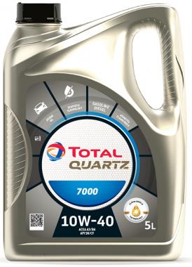 Motorový olej 10W-40 Total Quartz 7000 - 5 L - Oleje 10W-40