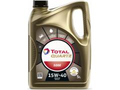 Motorový olej 15W-40 Total Quartz 5000 - 5 L Motorové oleje - Motorové oleje pro osobní automobily - Oleje 15W-40