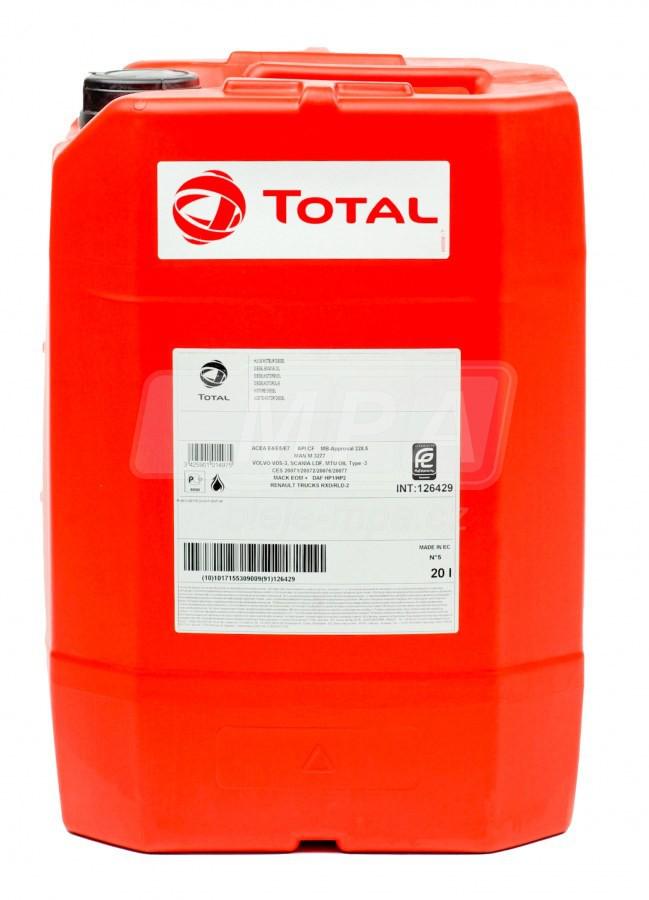 BIO hydraulický olej Total Biohydran SE 46 - 20 L - Biologicky odbouratelné hydraulické oleje - BIO
