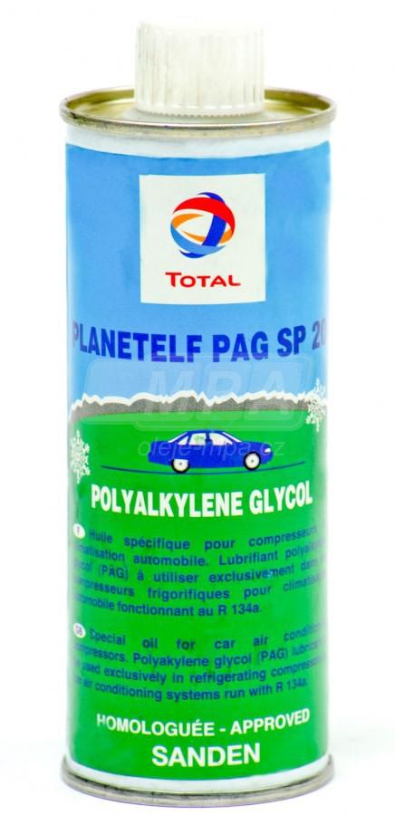 Kompresorový olej Total Planetelf PAG 488 - 0,25 L - Chladící kompresory