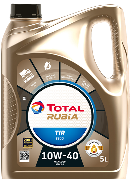 Motorový olej 10W-40 Total Rubia TIR 8900 - 5 L - 10W-40