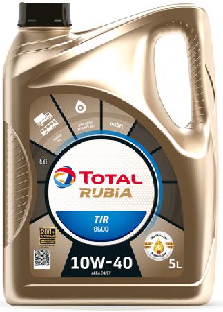 Motorový olej 10W-40 Total Rubia TIR 8600 - 5 L