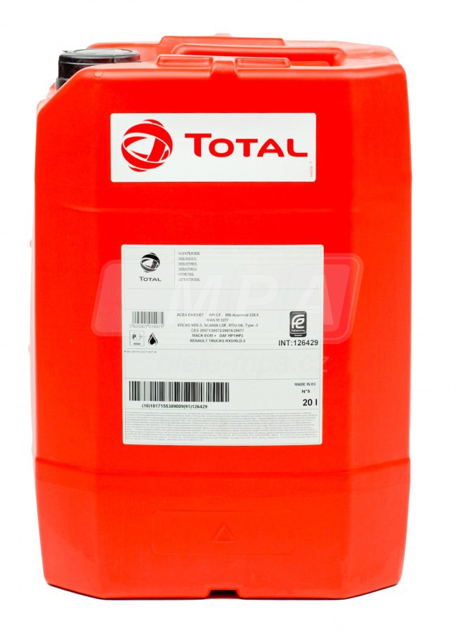 Multifunkční obráběcí olej Total Drosera MS 46 - 20 L - Oleje pro obráběcí stroje