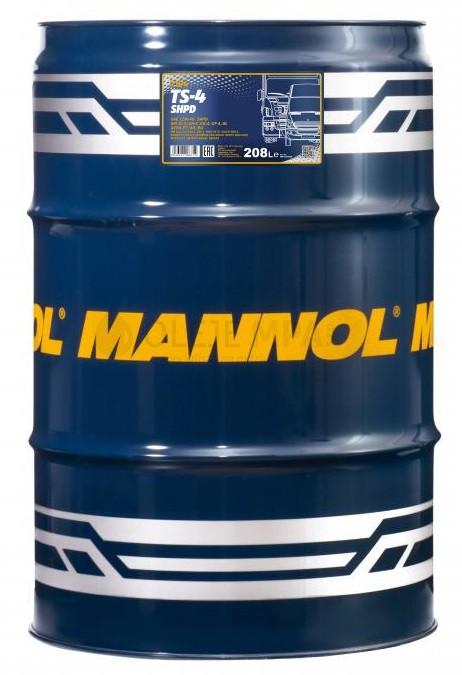 Motorový olej 15W-40 SHPD Mannol TS-4 Extra - 208 L - 15W-40