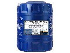 Motorový olej 5W-30 UHPD Mannol TS-17 Blue - 20 L Motorové oleje - Motorové oleje pro nákladní automobily - 5W-30