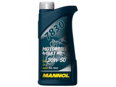Motocyklový olej 20W-50 Mannol 7830 4-Takt Motorbike HD - 1 L Motocyklové oleje - Motorové oleje pro 4-taktní motocykly