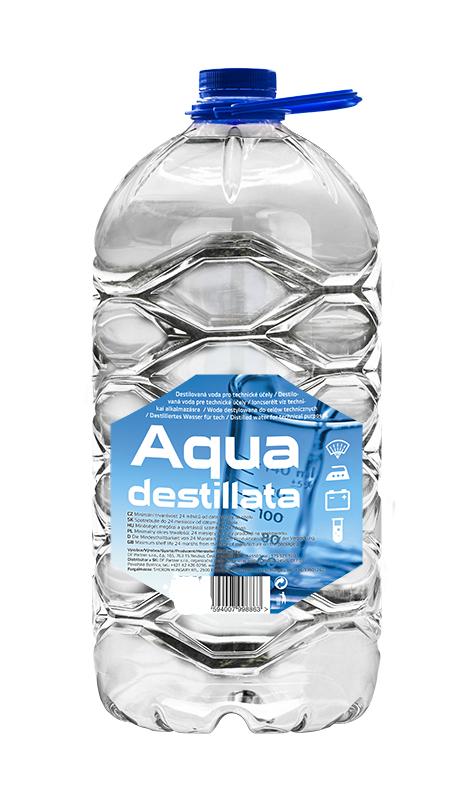 Destilovaná voda - 3 L - Technické kapaliny, čistidla, spreje