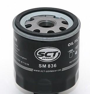 Filtr olejový SCT SM 836 - Filtry olejové