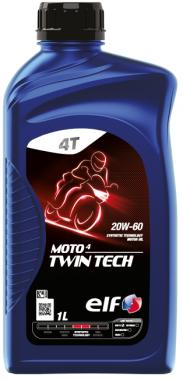 Motocyklový olej ELF Moto 4 Twin Tech 20W-60 - 1 L - MPA Oleje