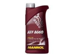 Převodový olej MANNOL ATF AG 60 - 1 L Převodové oleje - Převodové oleje pro automatické převodovky - Oleje GM DEXRON III