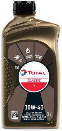 Motorový olej 10W-40 Total Classic 7 - 1 L - Oleje 10W-40