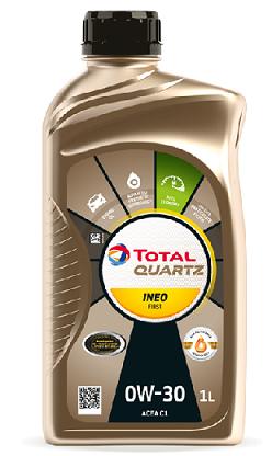 Motorový olej 0W-30 Total Quartz INEO First - 1 L - Oleje 0W-30