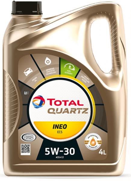Motorový olej 5W-30 Total Quartz INEO C1 - 5 L