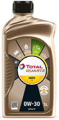 Motorový olej 0W-30 Total Quartz INEO FDE - 1 L - Oleje 0W-30