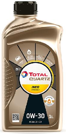 Motorový olej 0W-30 Total Quartz INEO EFFICIENCY - 1 L - Oleje 0W-30