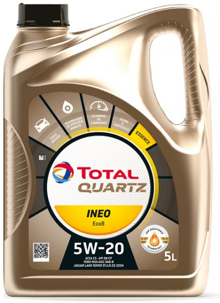 Motorový olej 5W-20 Total Quartz INEO EcoB - 5 L - Oleje 5W-20