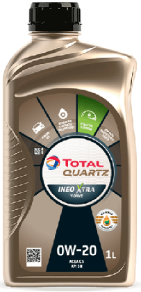 Motorový olej 0W-20 Total Quartz INEO Xtra V-DRIVE - 1 L