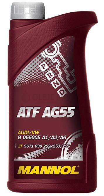 Převodový olej Mannol ATF AG 55 - 1 L - Oleje GM DEXRON III