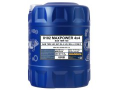Převodový olej 75W-140 Mannol Maxpower 4x4 - 20 L Převodové oleje - Převodové oleje pro automatické převodovky - Oleje GM DEXRON III