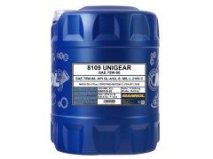Převodový olej 75W-80 Mannol Unigear 8109 - 20 L Převodové oleje - Převodové oleje pro manuální převodovky - Oleje 75W-80