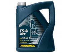 Motorový olej 15W-40 SHPD Mannol TS-4 Extra - 5 L Motorové oleje - Motorové oleje pro nákladní automobily - 15W-40