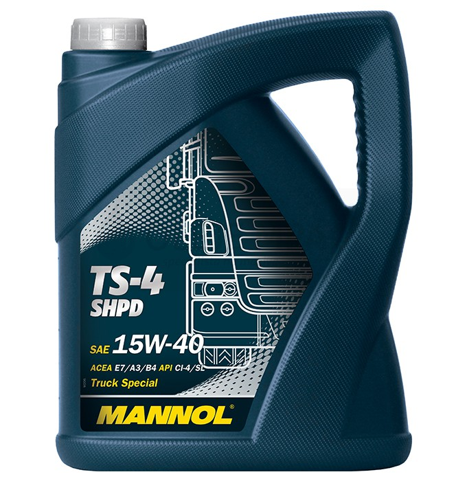 Motorový olej 15W-40 SHPD Mannol TS-4 Extra - 5 L