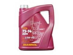 Motorový olej 15W-40 UHPD Mannol TS-14 - 5 L Motorové oleje - Motorové oleje pro nákladní automobily - 15W-40