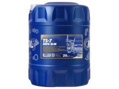 Motorový olej 10W-40 UHPD Mannol TS-7 Blue - 5 L Motorové oleje - Motorové oleje pro nákladní automobily - 10W-40
