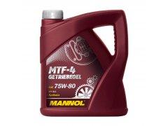 Převodový olej 75W-80 Mannol MTF-4 Getriebeoel - 4 L Převodové oleje - Převodové oleje pro manuální převodovky - Oleje 75W-90
