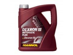 Převodový olej Mannol Dexron III Automatic Plus - 4 L Převodové oleje - Převodové oleje pro automatické převodovky - Oleje GM DEXRON III