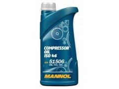 Kompresorový olej Mannol Compressor ISO 46 - 1 L Průmyslové oleje - Oleje pro kompresory a pneumatické nářadí - Vzduchové kompresory