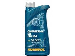 Kompresorový olej Mannol Compressor ISO 100 - 1 L Průmyslové oleje - Oleje pro kompresory a pneumatické nářadí - Vzduchové kompresory