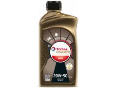 Motorový olej 20W-50 Total Quartz 5000 - 1 L