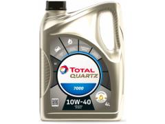Motorový olej 10W-40 Total Quartz 7000 - 4 L Motorové oleje - Motorové oleje pro osobní automobily - Oleje 10W-40