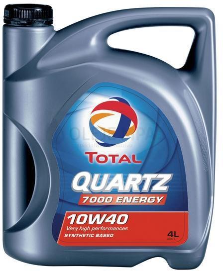 Motorový olej 10W-40 Total Quartz 7000 Energy - 4 L - Oleje 10W-40