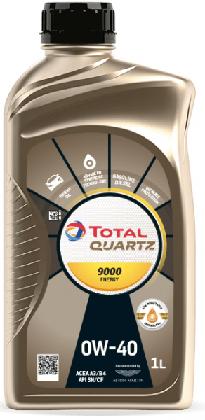 Motorový olej 0W-40 Total Quartz ENERGY 9000 - 1 L