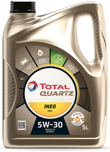 Motorový olej 5W-30 Total Quartz INEO MDC - 5 L