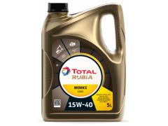 Motorový olej 15W-40 SHPD Total Rubia Works 1000 - 5 L Oleje pro stavební stroje