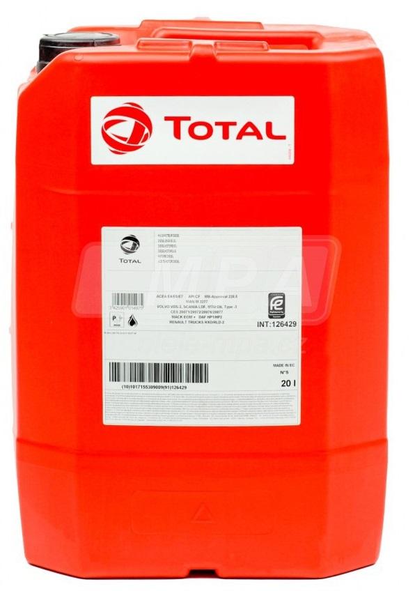 Motorový olej 10W-40 Total Rubia Works 3000 (2500) - 20 L - Oleje pro stavební stroje