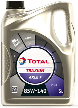Převodový olej 85W-140 Total Traxium AXLE 7 (Transmission) - 5 L - Oleje 85W-140