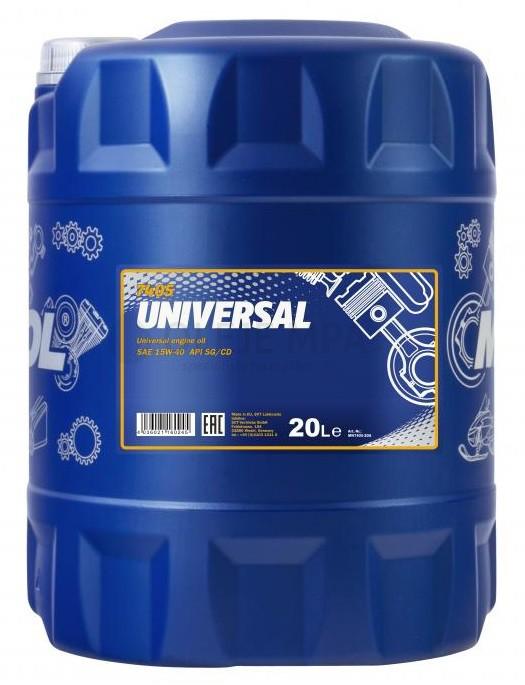 Motorový olej 15W-40 Mannol Universal - 20 L - 15W-40