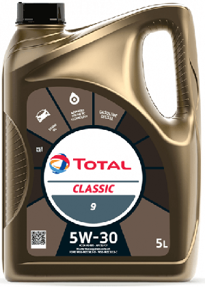 Motorový olej 5W-30 Total Classic 9 - 5 L - Oleje 5W-30