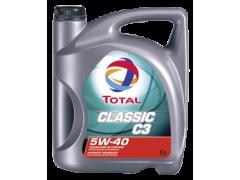 Motorový olej 5W-40 Total Classic C3 - 5 L Motorové oleje - Motorové oleje pro osobní automobily - Oleje 5W-40